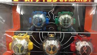 仮面ライダーゴースト (Kamen Rider Ghost)ガチャポンで早速実行してみたら・・・(笑)