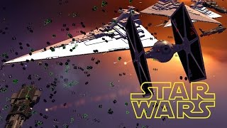 MASSIVE TIE Fighters SPACE BATTLE - Star Wars: Warlords