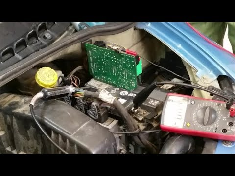 Где находится предохранитель корректора фар у Citroen C3