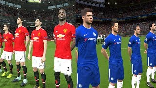 Chelsea vs Manchester United | FA Cup Final 19 May 2018 Gameplay