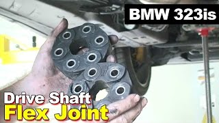 getlinkyoutube.com-1998 BMW 323is Drive Shaft Flex Joint Replacement