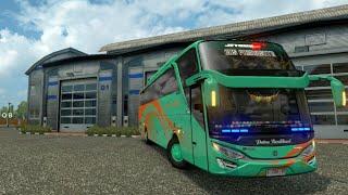 Klakson Telolet Unik Lucu Bus Rosemala SHD [ETS2]
