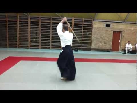 Aikido Bokken - Kata Nr 1 (autor shihan G.Savegnago 8 Dan - Aikido Kobayashi Ryu)