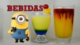 getlinkyoutube.com-5 BEBIDAS DE PELICULAS JUEGOS Y PERSONAJES | MUSAS | Bebidas preparadas