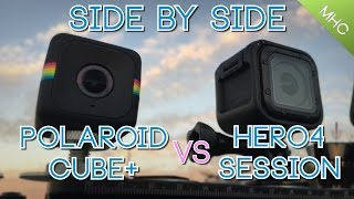 Polaroid Cube+ vs GoPro Hero4 Session: Everything Covered