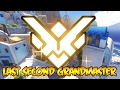 LAST SECOND GRANDMASTER RANK UP?! Overwatch Ranked Gameplay
