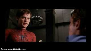 getlinkyoutube.com-Spider Man 2: Harry finds out