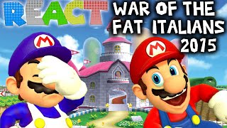 getlinkyoutube.com-LUIGIKID REACTS TO: SM64: WAR OF THE FAT ITALIANS 2015 by SMG4