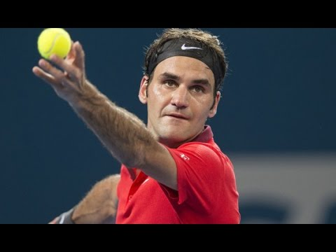 R Federer (SUI)  vs  J Millman (AUS) Highlights 2015 Brisbane International