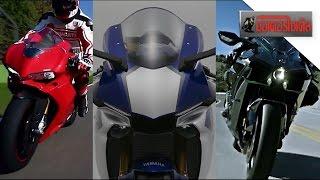 getlinkyoutube.com-YZF-R1 ปะทะ Ninja H2 ท้าชน 1299 Panigale