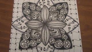 getlinkyoutube.com-5x5 Zentangle