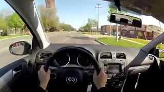 getlinkyoutube.com-2014 Volkswagen Golf TDI - WR TV POV Test Drive