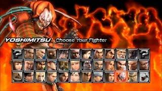 getlinkyoutube.com-Tekken Dark Resurrection PSP Yoshimitsu  playthrough