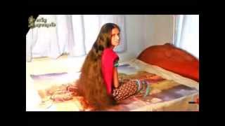 getlinkyoutube.com-LuckyRapunzels Model AA (Sangita) Very Long Hair Video