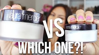 Laura Mercier Translucent VS Laura Mercier Secret Brightening Powder | WHICH ONE is BETTER?