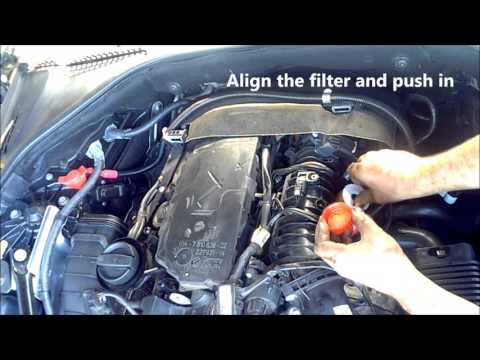 BMW 520D Diesel Fuel Air Oil Filter change / Service and reset F10 - N47