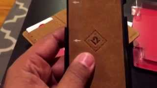 getlinkyoutube.com-Unboxing bookbook for iPhone 6 wallet by twelve south.