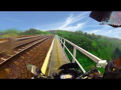 Riding Around Waduk Jatiluhur & Cisomang Railway Bridge