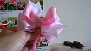 getlinkyoutube.com-Nicole mama DIY Hairbow教學2 [ Pinwheel Hairbow應用part I]
