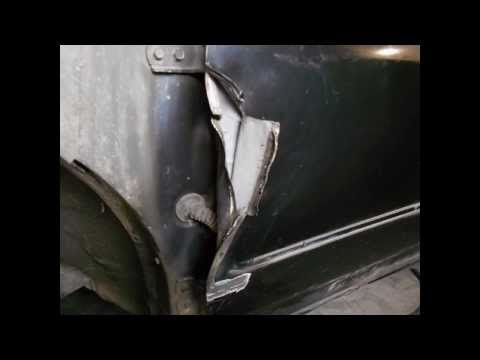Рихтовка двери toyota runx