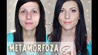 getlinkyoutube.com-** Metamorfoza Evy - makijaż dla głęboko osadzonych, okrągłych oczu **
