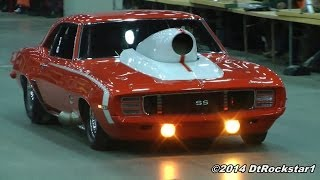 getlinkyoutube.com-Incredible Parade of Muscle Cars! Part 1