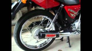 CG 150cc com escape TORBAL Racing