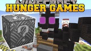 getlinkyoutube.com-Minecraft: DRAGON ATTACK HUNGER GAMES - Lucky Block Mod - Modded Mini-Game
