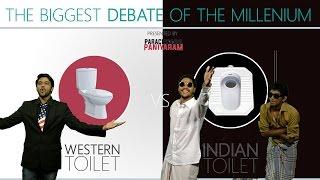 getlinkyoutube.com-Western Toilet Vs Indian Toilet | Paracetamol Paniyaram