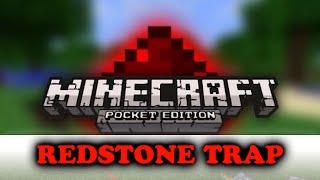 getlinkyoutube.com-Minecraft PE Redstone Deathtrap!  MCPE Redstone trap//redstone alternative