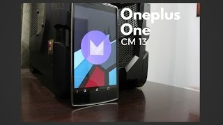 getlinkyoutube.com-[HOW TO] Install COS 13 on Oneplus One!