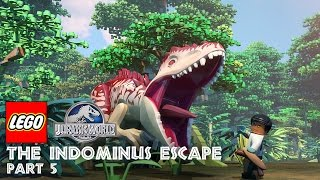 getlinkyoutube.com-Part 5: LEGO® Jurassic World: The Indominus Escape