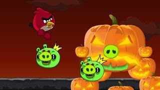getlinkyoutube.com-Angry Birds Halloween Adventure Walkthrough World One