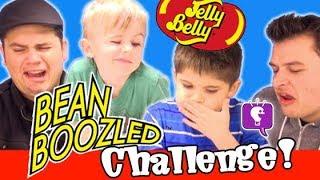 Disgusting BEAN BOOZLED Jelly Bean Challenge! Jelly Belly HobbyKidsTV