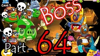 getlinkyoutube.com-Angry Birds Epic: Part-64 Gameplay Chronicle Cave 17: Pig Porch 8-10 (Final Boss Battle) The End