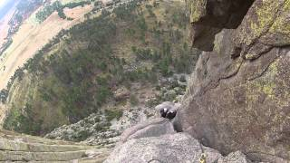 getlinkyoutube.com-The Climb to the top of Devil's Tower National Monument