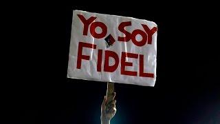 Último adiós: Santiago de Cuba rinde homenaje a Fidel Castro