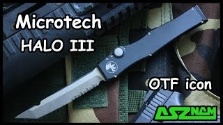 getlinkyoutube.com-Обзор ножа Microtech HALO 3