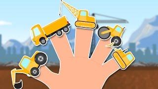 getlinkyoutube.com-Construction Vehicles Finger Family | Finger Family | kids songs