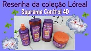 getlinkyoutube.com-Resenha da Coleção Loreal Supreme Control 4D 💕