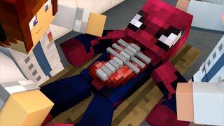 getlinkyoutube.com-Minecraft : CIRURGIA NO HOMEM ARANHA !! - Aventuras Com Mods #34