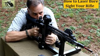 getlinkyoutube.com-How to Laser Bore Sight a Rifle