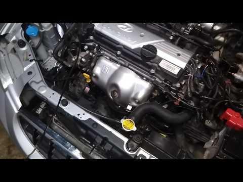 Hyundai Accent замена мотора 12V на 16V - электрика