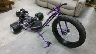 getlinkyoutube.com-Motorized drift trike build Ver 2.0 (part 1)