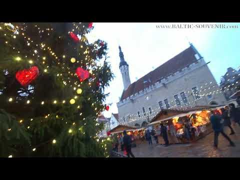 Главная елка Таллина, Ратушная площадь   Tallinn Happyy New Year