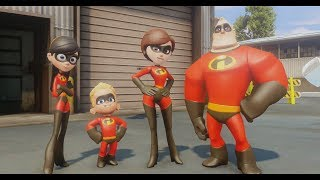 getlinkyoutube.com-Disney Infinity - The Incredibles - Part 1