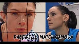 getlinkyoutube.com-Dinamo Kazan VS Dinamo Moscow Farewell Match Gamova Retire Russia Volleyball