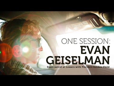 ONE SESSION: EVAN GEISELMAN