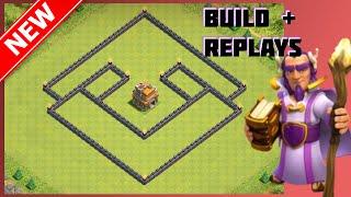 getlinkyoutube.com-New BEST Th7 Un-Defeated Trophy Base (War Base) | The Reaper | Anti-Drag & Giant