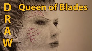 getlinkyoutube.com-How to Draw Queen of Blades from StarCraft II: Heart of the Swarm